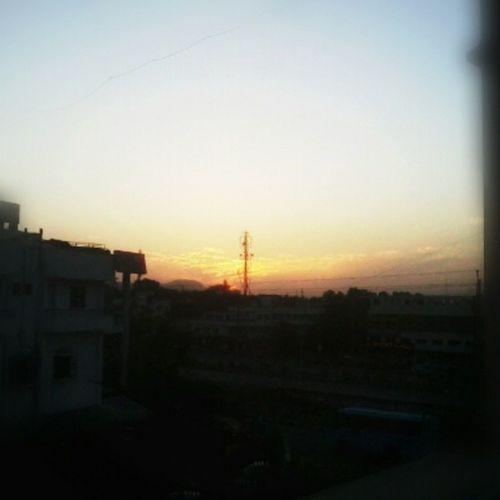 Sunset Instasunset Nature Sun Settingdown Instapic Instashare Instaindia Indiagram Nashik Nashikgram Instanashik Mobileclick