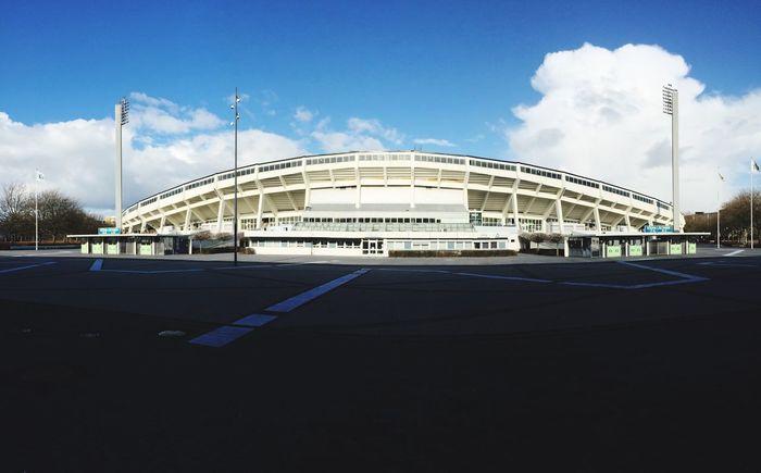 Malmö FF Di Blåe Sweden Himmelsblått DiBlåe - En Obeskrivlig Passion Malmö Malmö Stadion Architecture Stadium