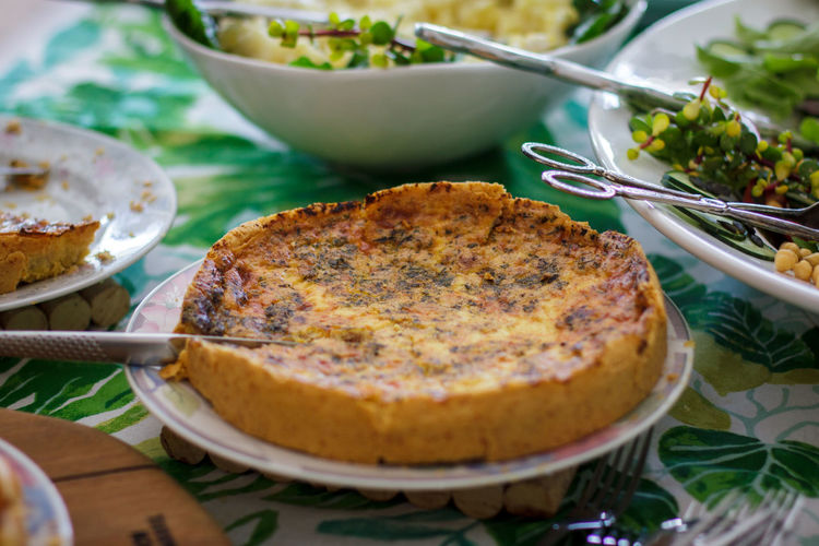 Canon 7D, 18-135mm lense Bowl Close-up Day Food Food And Drink Freshness Indoors  Indulgence No People Plate Quiche Ready-to-eat Table Temptation