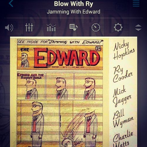 Nowplaying - 'Blow With Ry' Nickyhopkins Jammingwithedward 60s Blues Rycooder Charliewatts Billwyman Mickjagger Rocknroll