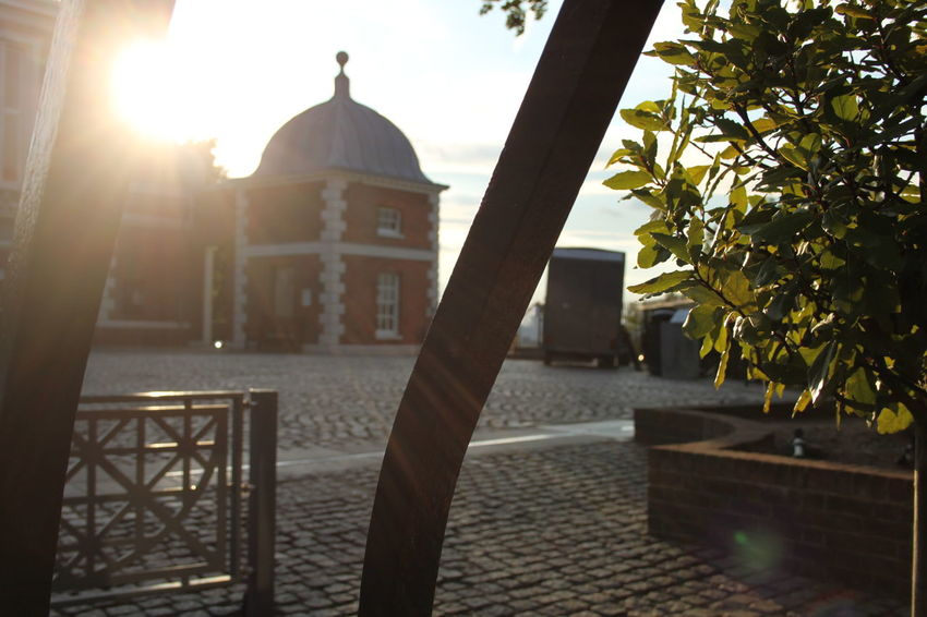 EyeEmNewHere GMT Gate Greenwich Cobblestone Dome Outdoors Prime Meridian Sun Sunlight Time No People