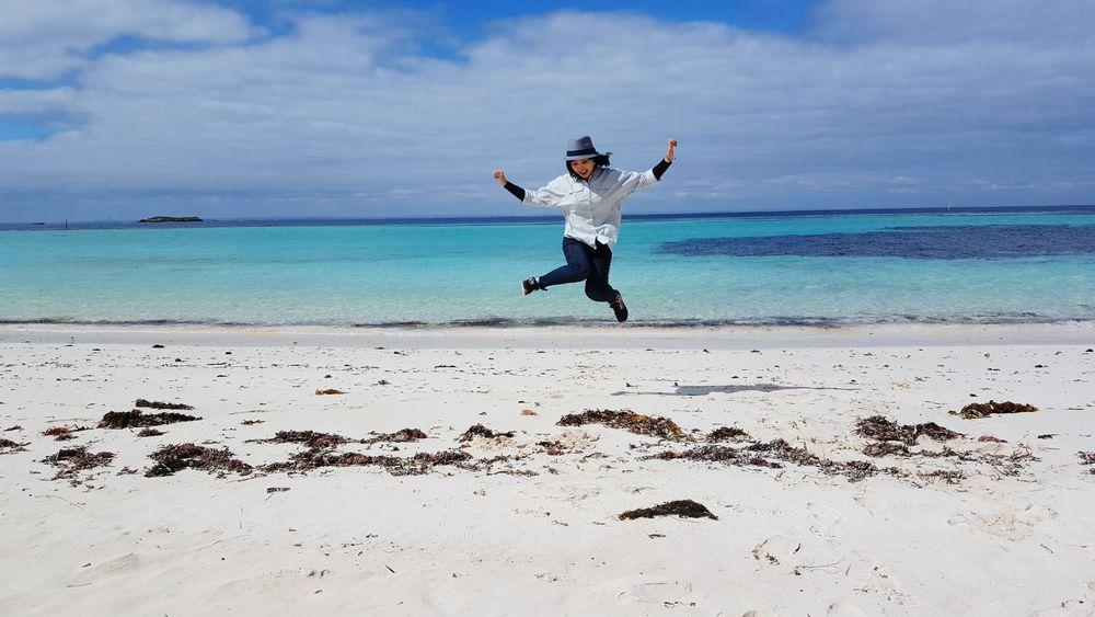 West Australia Rottnest Island Jumpshot Nature