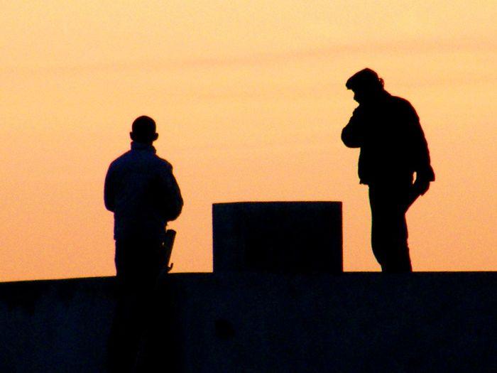 Unknown Men End Of Day Team Job To Imagine EyeEm Photo