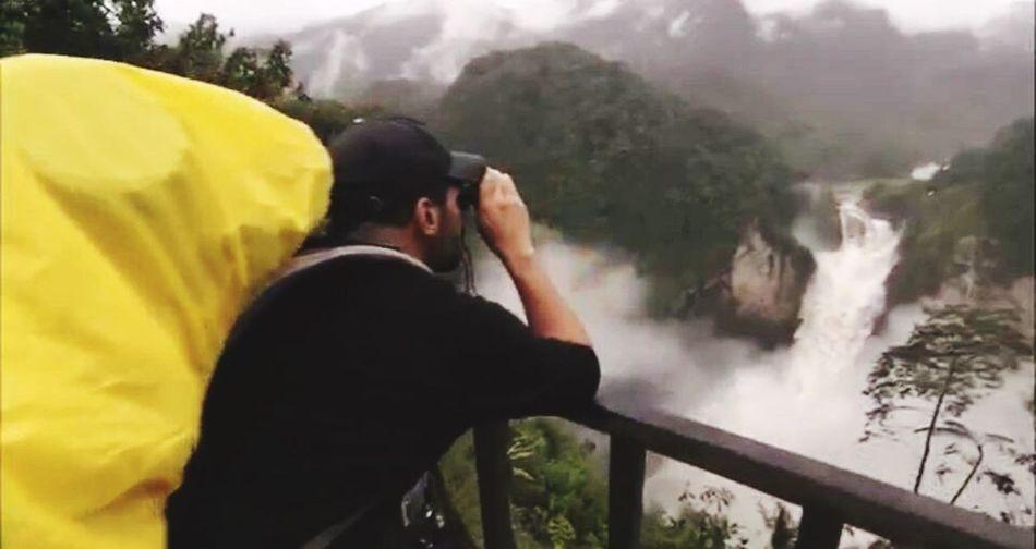 This Is Latin America San Rafael Waterfall ( El Chaco ) Photography Themes Photographing Waterfall Waterfalls Ecuador Nature Water America Latina Latin America