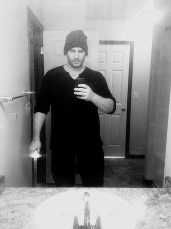 QVHoughPhoto QVHough Selfportrait Selfie ✌ Minnesota Moorhead Blackandwhite IPhoneography IPhone4s