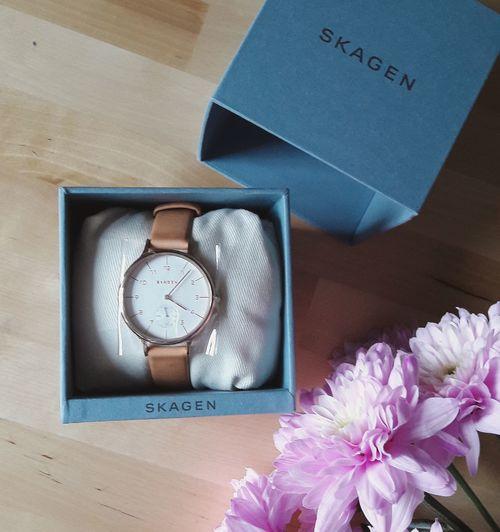 Skagen Watch Birthday Present Stylised Photo Flowers Rose Gold No People Time Samsung Snapshot