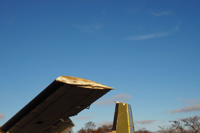 Aircraft Wing Airplane Broken Flying Obsolete Old Plane Part Of Wrecked