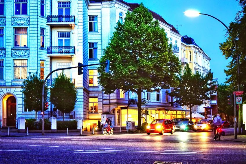 Art Nouveau Buildings Art Nouveau Architecture Architecture City Building Exterior Built Structure Street Building Mode Of Transportation Illuminated Road Motor Vehicle Plant Nature Land Vehicle Car City Street Transportation City Life Sign Residential District Tree The Street Photographer - 2018 EyeEm Awards The Street Photographer - 2018 EyeEm Awards