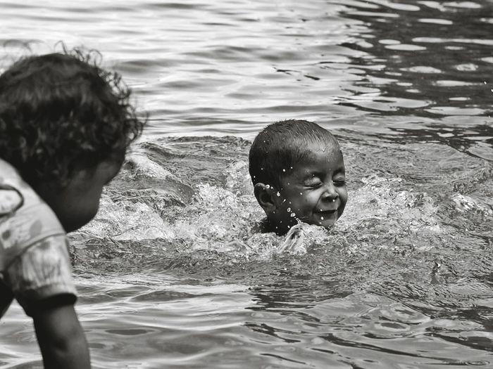 Water Child Wet