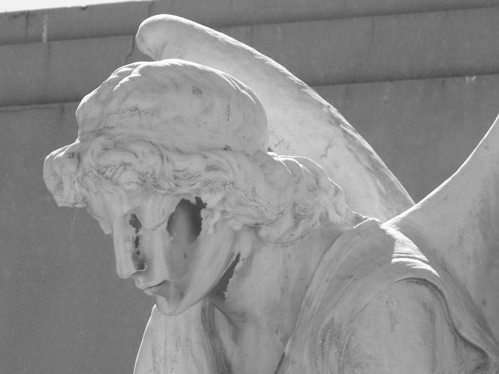 Angels Black & White Blackandwhite Culture Human Representation Religion Sculpture Spirituality Statue Women