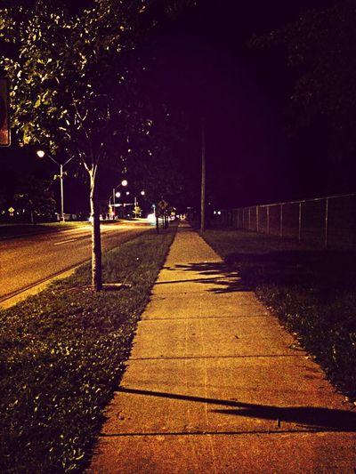 Late night walks