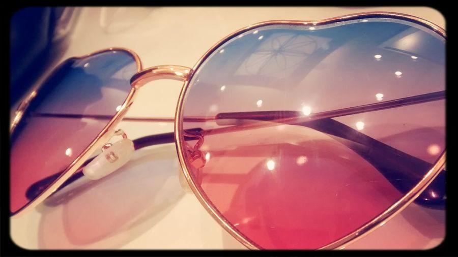 New sun glasses??? Sunglasses Glasses :) Heart Glasses