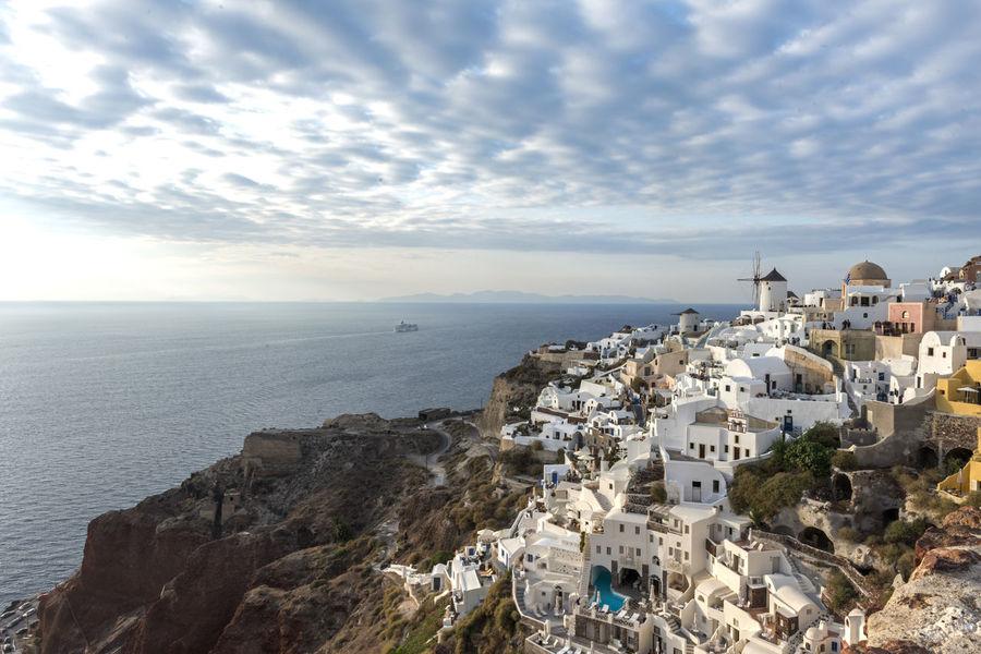 Cloud - Sky Greece Islands Island Landscape Landscape_Collection Santorini Santorini View Seascape Travel Travel Destinations