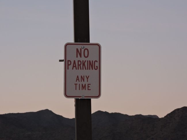 No parking Sky Outdoors No People Road Sign Close-up Nature Day