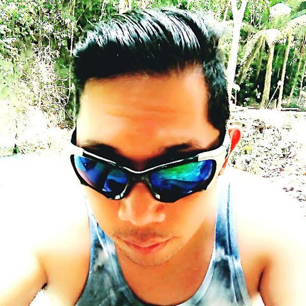 Relaxing That's Me Enjoying Life Kawasan Falls Cebu,Philippine Eyeem Cebu Selfie✌