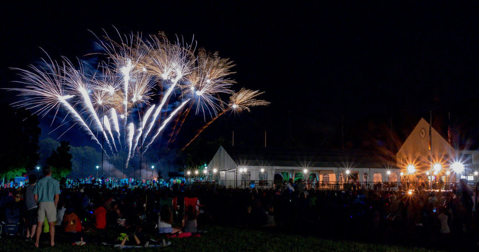 Firework Display at the Irish Cultural Center in Canton, MA Fourth Of July 🎉