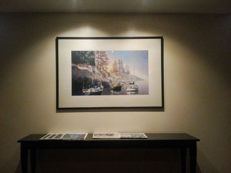 art under the spotlight Hotel Pictureframe