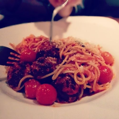 Sphagetti with Meat Balls