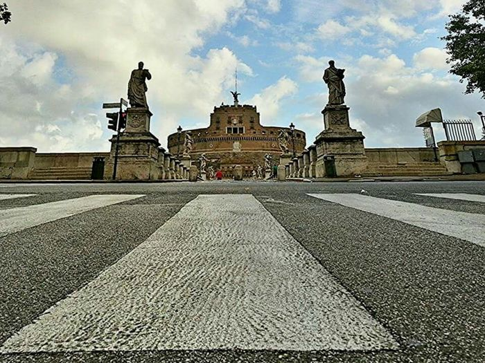 Castelsantangelo Roma Prospective Change Your Perspective Prospettive Streetphotography by Danieledonofrio