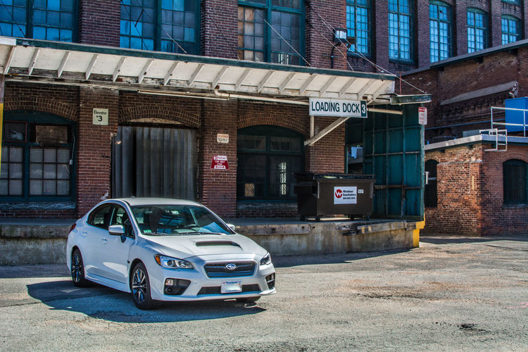 2017 Subaru WRX Architecture Building Exterior Car City Day Mode Of Transport No People Old-fashioned Outdoors Stationary Transportation White Crystal Pearl