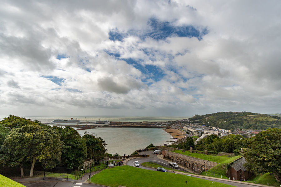 Dover, England Walimex 12mm Beauty In Nature Clouds And Sky Harbor View Landscape_photography Lanscape Sea Sea And Sky Sky