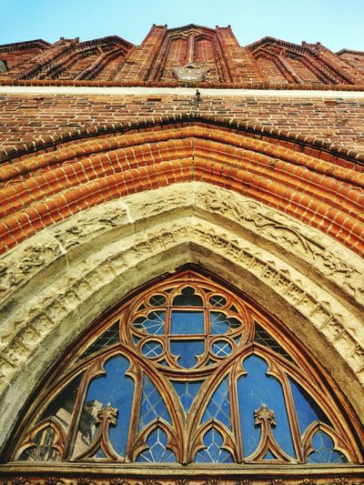 Day Travel Destinations Architecture Pattern No People Indoors  Multi Colored Frombork Travel Eastern Europe Poland Masuren City Sky Blue Clear Sky Architecture Built Structure Building Exterior Close-up
