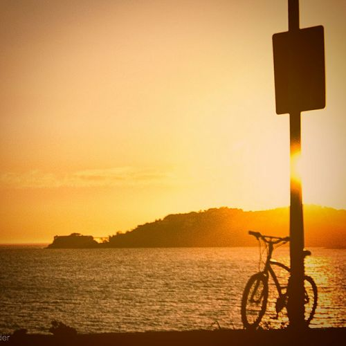 Streetphotography Beach Photography Riodejaneiro Rio450 Beach Bike Sunset