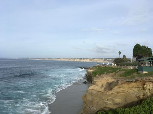 The Jewel of the Pacific - San Diego, United States 2016 Beach Beauty In Nature Cloud - Sky Coastline Day Horizon Over Water Nature No People Outdoors Scenics Sea Sky Travel Destinations Water Wave