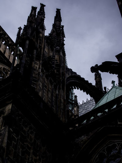 Prague Czech Republic Trip Journey Travel Sky Low Angle View Building Exterior Built Structure Architecture No People Nature Building History The Past Religion Day Place Of Worship Outdoors Belief Spirituality Old City Abandoned Ruined