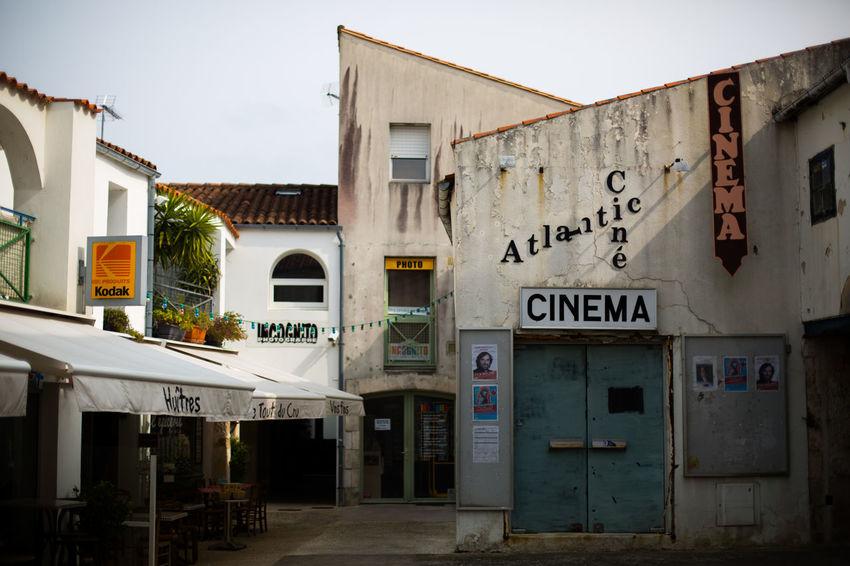 Building Exterior Built Structure Cinema Cinematic Classic Classic Cinema Day Exterior France Old Sky Vintage