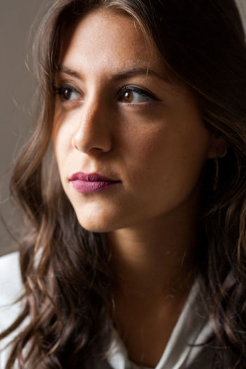 Beauty Close-up Headshot Indoors  Long Hair One Person One Woman Only Portrait Women