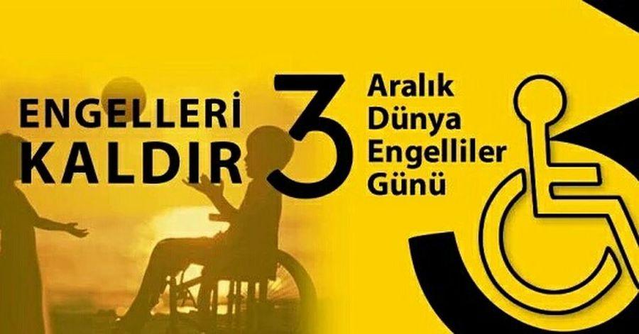 3AralıkDünyaEngellilerGünü Engellerikaldir Engelsizsiniz Engelsizyasam Istanbuldayasam Unutma Unutturma Engelliler Gunu Kutlu