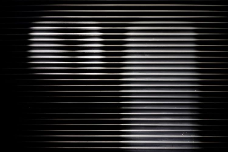 Shadow Pattern Backgrounds Metal No People Close-up Repetition Full Frame Textured  Striped Day Blinds Black Color Architecture Shutter Closed