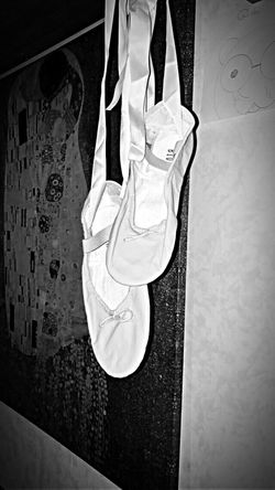 Indoors  Low Section Dance Shoes Passion Blackandwhite