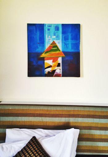 Painting in Hotel Room Gunung Jerai Kedah