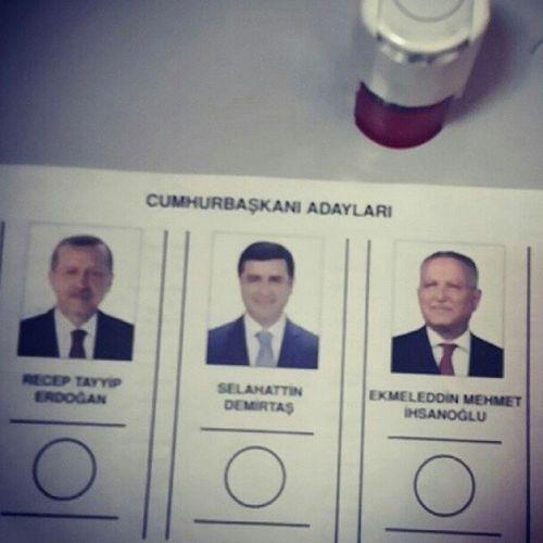 Kime oy vermedigimi biliyorsunuz bu yeterli ;) Oyver