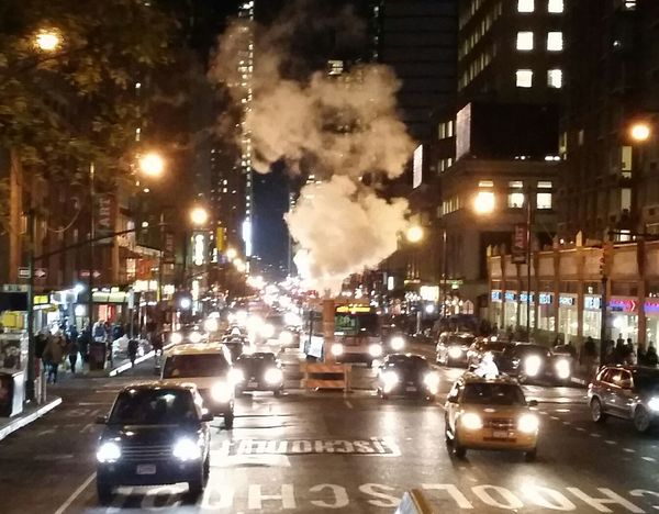 New York Newyorkcity 8th Avenue  Rush Hour Colour Of Life New York By Night New York City Streets New York Rush Hour HUAWEI Photo Award: After Dark #urbanana: The Urban Playground