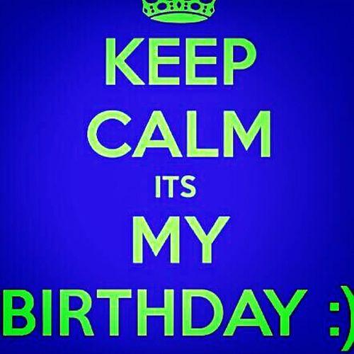 big 18 :) Birthday Its My Birthday  Keep Calm And Followme