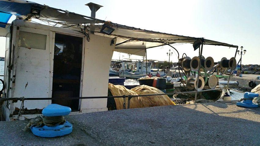 Fishermen's Life Boats Sea Urban Landscape Fishermanvillage Fishermanslife Greece Halkidiki Fishnets EyeEm Best Shots