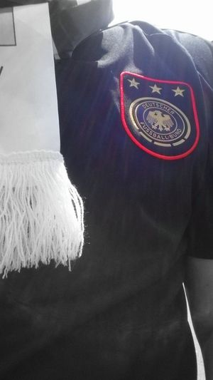 Soccer Wm2014 Worldchampion Germany .. one sport..one country..one passion..old trikot, now we have 4 stars :D