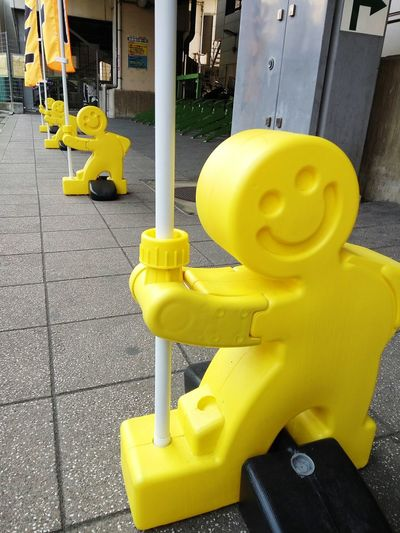 Yellow little man Yellow Color Plastic Model Interesting Perspectives Interesting Objects