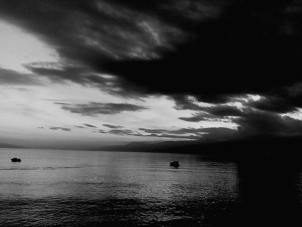 Black & White Black And White Blackandwhite Photography Black And White Photography Kantrida Sunset_captures Sunset_collection Outdoor Photography Sunset Rijeka.Croatia❤⛵ Rijeka Sea Sea And Sky Reflection Boat Reflections In The Water Reflection_collection Boats And Sea Boats⛵️ Boat