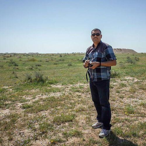 اليوم في ناحية الطيب - محافظة العمارة سجادة جميلة من الغطاء النباتي الطبيعي Ricoh Gr Ricohgr Landscape Iraq Omara Naturalplant Flower Hillls Biodiversity Ecosystem