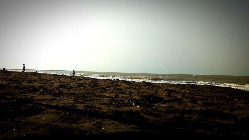 randusanga beach Jawa Tengah, Indonesia Water Silhouette Sky Seascape