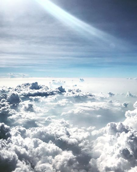 Land of the Gods Heaven Cloud - Sky Beauty In Nature Nature Sky Tranquility Cloudscape Scenics