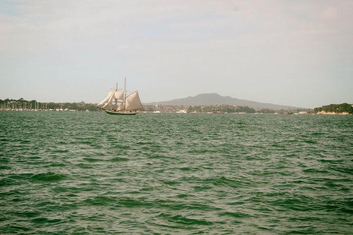 Day Mountain Nature Nautical Vessel No People Outdoors Sailing Sailing Boat Sailing Ship Sea Sky Water