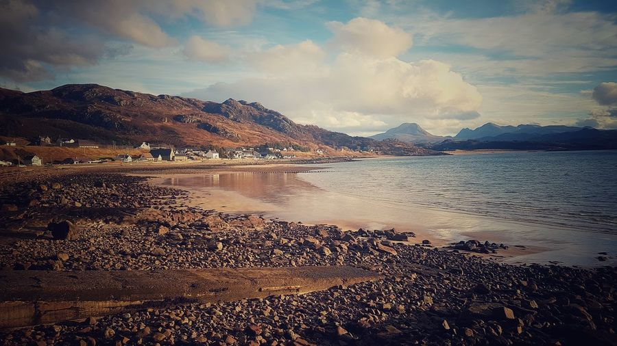 Gairloch, Scotland. Holiday snap. Samsung Galaxy S7 Mountain Beauty In Nature Dramatic Sky Landscape Nature Scotland