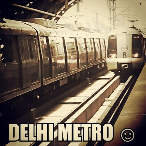 My Click Lumia Coolpics Delhi Metro Enjoyed Delhi Very Hot now Return To mumbai Back To Work n Excited To See Mumbai Metro ☺?