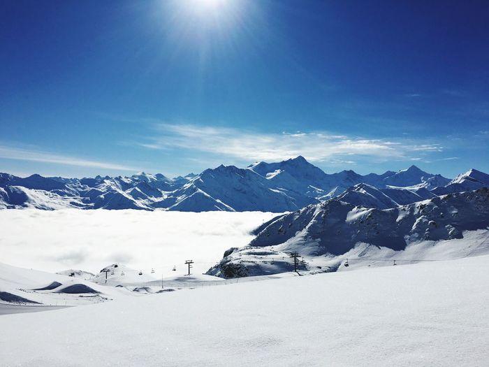 Bendolla Grimentz Zinal Val D'Anniviers Switzerland Alps Valais Outdoor Photography Winter Snow Landscape The Great Outdoors - 2018 EyeEm Awards