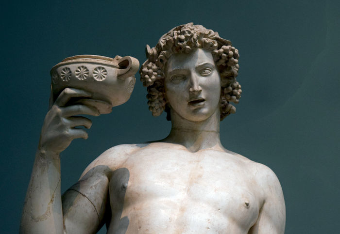 God Ancient Civilization Architecture Art And Craft Close-up Craft Creativity Dionysus Female Likeness Fine Art Statue Grape Greece History Human Representation Indoors  Male Likeness Marble Nature No People Representation Sculpture Shirtless Statue Studio Shot The Past